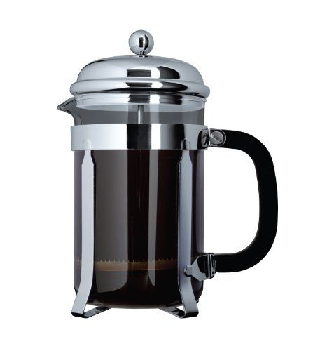 Cafe Ole Silver Cafetiere Coffee Maker - MORE OPTIONS