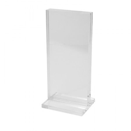 Clear Acrylic Vertical Stand - 1/3