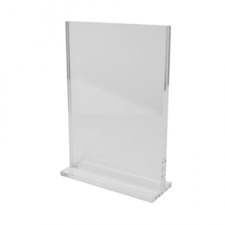 Clear Acrylic Vertical Stand -  A4