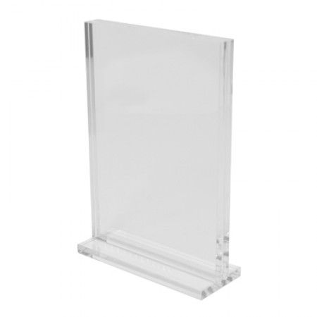 Clear Acrylic Vertical Stand -  A5