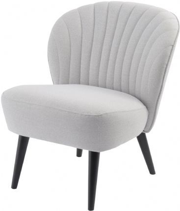 Halcyon Curve Shell-Back Zink Retro Chair