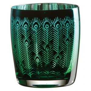 Peacock Tumber Glass